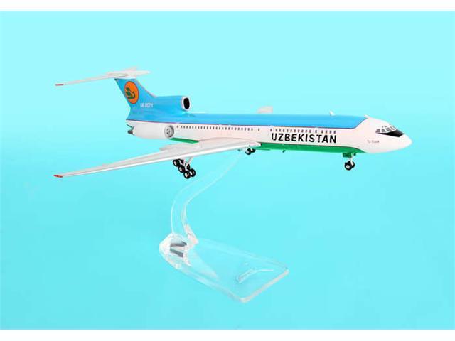 Phoenix Diecast Models 1-200 PH2UBZ068 Uzbekistan TU154M with UK85711