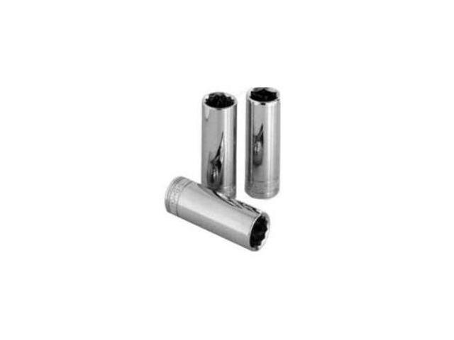 Sk Hand Tool Llc SK44910 .25 in. Drive 12 Point Deep Fractional Socket .31 in.