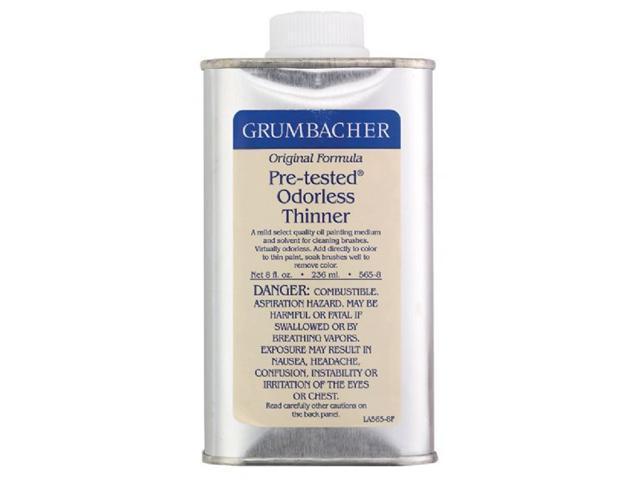 Alvin GB5658 Odorless Paint Thinner 8oz