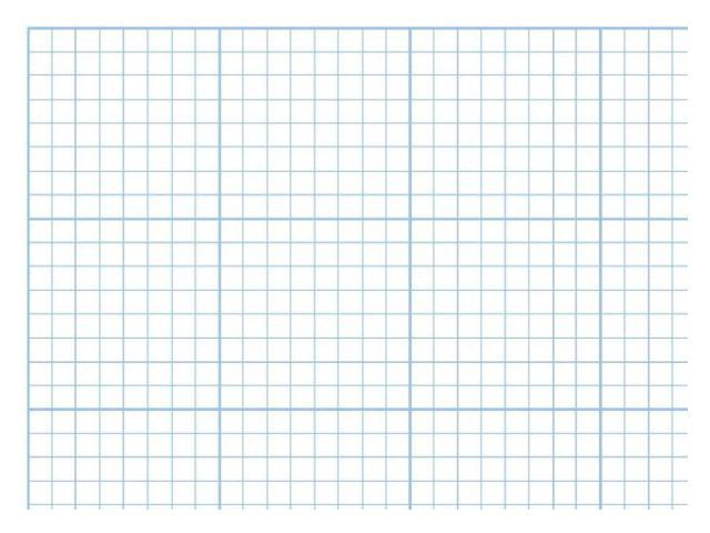 Alvin 1422-14 Paper Cross Sec 17x22x8 Pad
