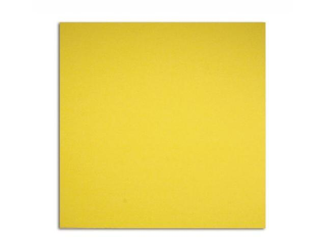 Alvin PS1201 12x12 80# Cover 25pk Gold Yel