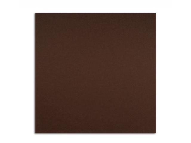 Alvin PS1211 12x12 80# Cover 25pk Chocolate
