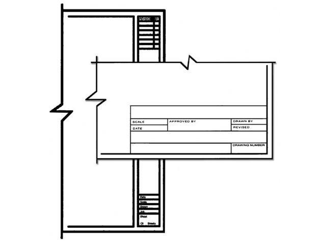 Alvin CP10211528 Arch Title Blk 24x36 100 Shts