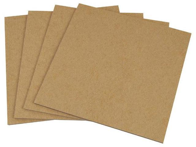 Alvin BM3240-8 32 in. x 40 in. 0.80 Thick Backing Mount Chip Board - Box of 20