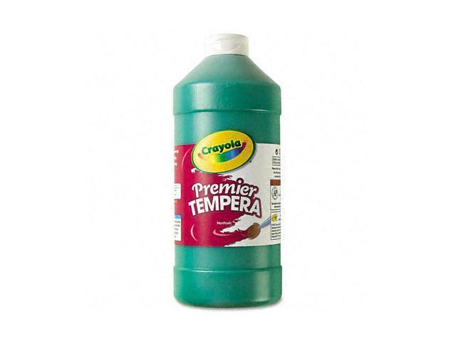 Crayola. 541232044 Premier Tempera Paint, Green, 32 oz