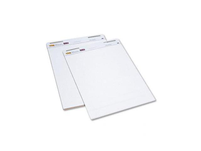 Post-it 559 Easel Pads Self-Stick Easel Pads, 25 x 30, White, 2 30-Sheet Pads/Carton