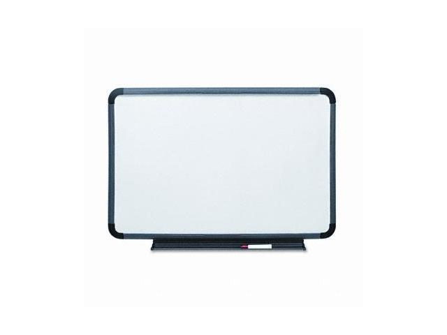 Iceberg 37069 Premium Dry Erase Board  Coated Styrene  66 x 44  White with Gray Frame