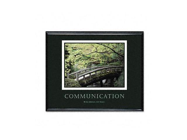 """Communication"" Framed Motivational Print 30 x 24"