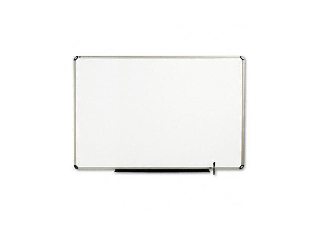 Quartet TE567T Total Erase Marker Board  72 x 48  White  Euro-Style Aluminum Frame