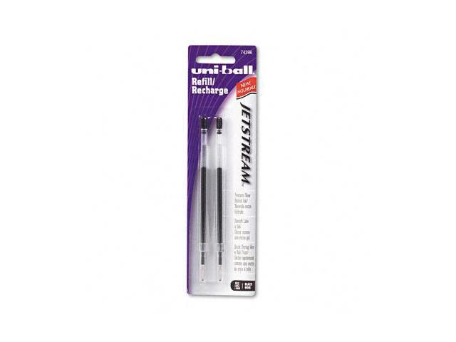 Sanford Ink 74396PP Refill for uni-ball JetStream Ballpoint, Bold, Black Ink, 2/Pack