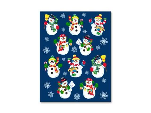 Beistle - 24003 - Snowman Stickers- Pack of 12