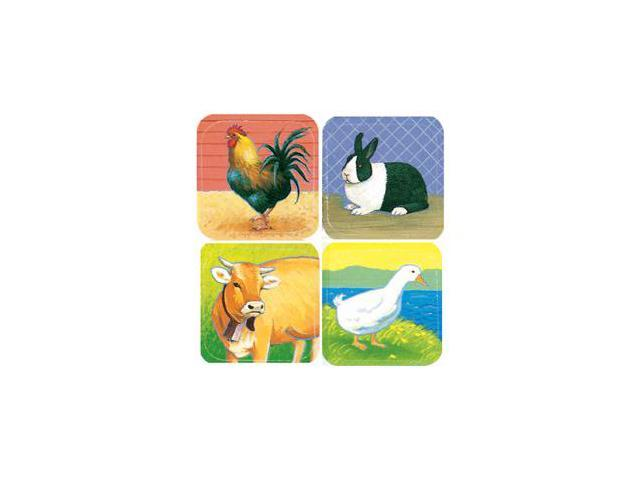 EUREKA EU-655490 STICKERS FARM ANIMALS