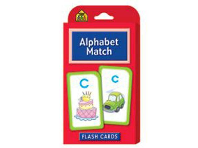 School Zone Publishing SZP04021 Alphabet Match Flash Cards
