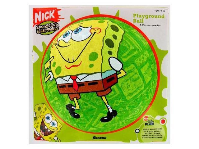 Franklin Sports 8.5in. Sponge Bob Rubber Ball  5461