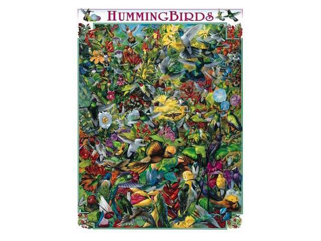 (NEW) Hummingbirds Puzzle by White Mountain