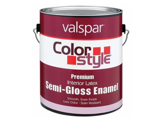Valspar Brand 1 Quart Tint Base ColorStyle Interior Latex Semi Gloss Enamel Pai