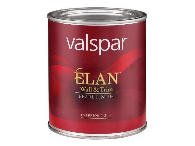 Valspar Brand 1 Quart Clear Base Lan Wall Trim Pearl Finish Interior Paint 1