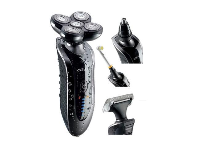 Ragalta USA RTPF-5000 4-in-1 Turbo Penta Flex Wet-Dry 5- Headed Flex Shaver