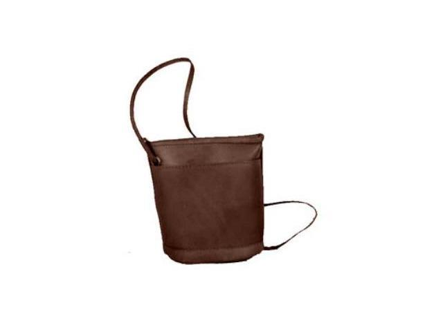 David King & Co 512C Top Zip Mini Bag- Cafe