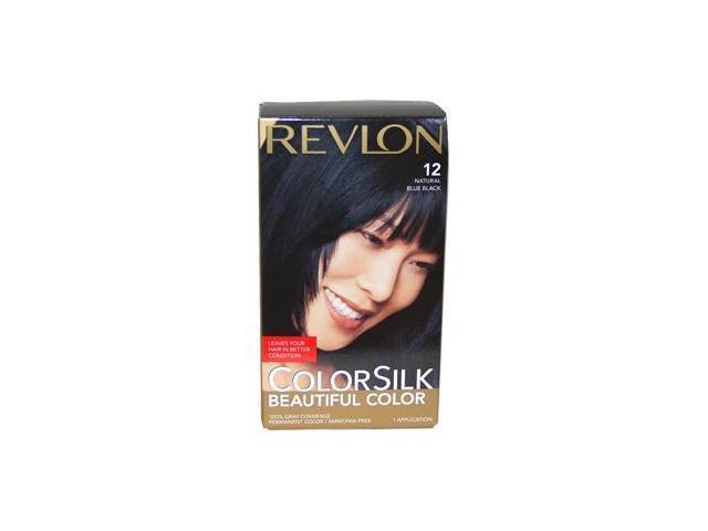 colorsilk Beautiful Color #12 Natural Blue Black - 1 Application Hair Color