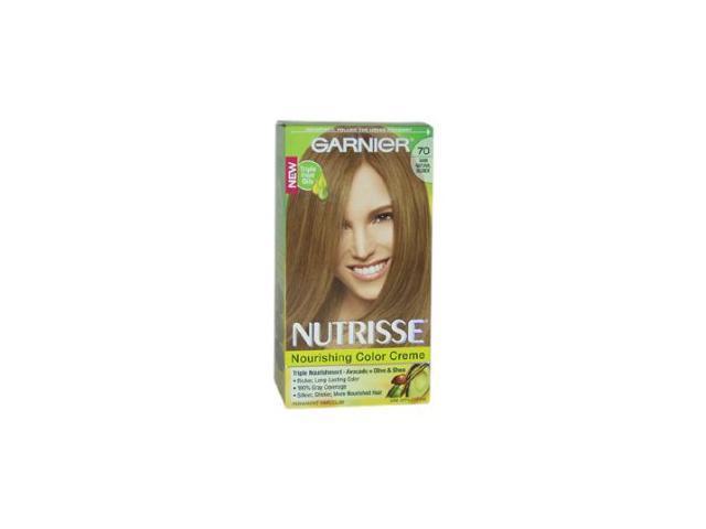 Nutrisse Nourishing Color Creme # 70 Dark Natural Blonde - 1 Application Hair Color