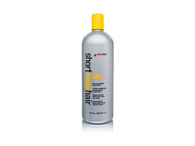 Short Sexy Hair Cool Factor Daily Refreshing Conditioner 33.8 oz (1 Liter)
