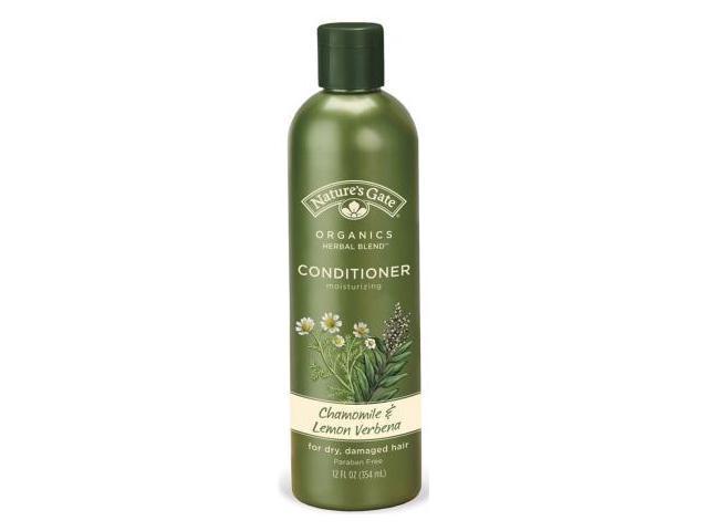 Chamomile and Lemon Verbena Moisturizing Conditioner - Nature's Gate - 12 oz - Liquid