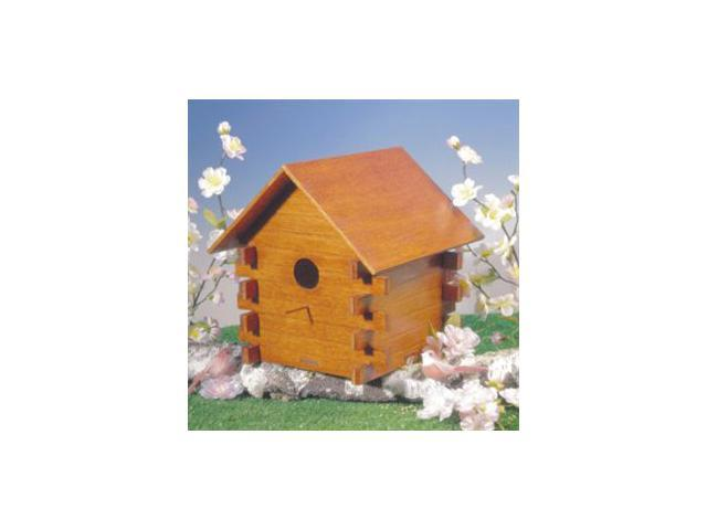 Greenleaf 6906 Cottond Birdhouse - Unfinished Woo