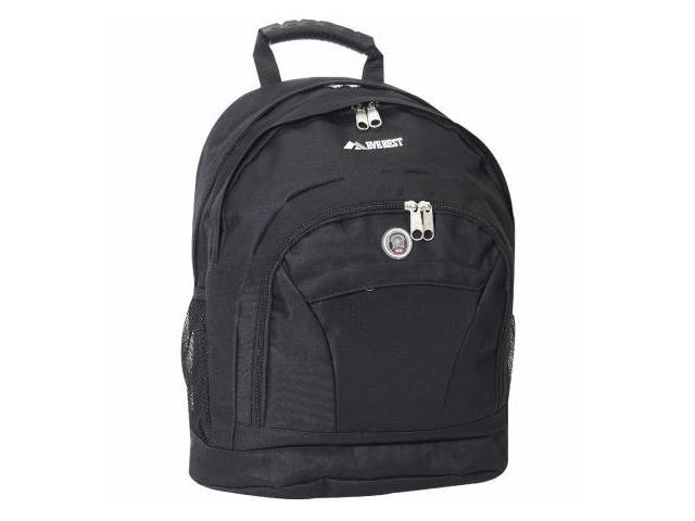 Everest 4045CD-BK 17 in. Deluxe Double Compartment Backpack
