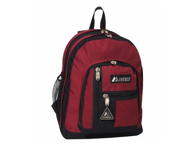 Everest 5045-BG 16.5 in. Double Compartment Backpack