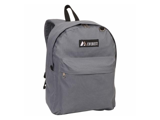 Everest 2045CR-GY 16.5 in. Classic Backpack