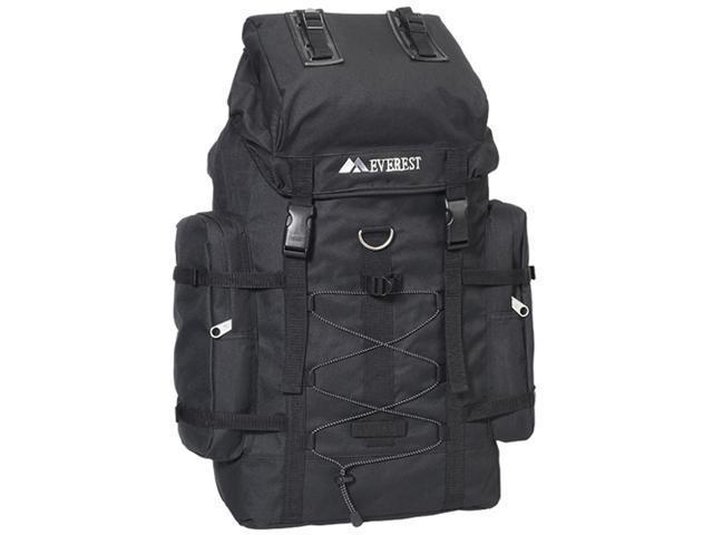 Everest 8045D-BK 24 in. 600 Denier Polyester Hiking Backpack