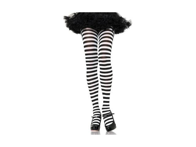 Leg Avenue 107659 Striped Tights Adult