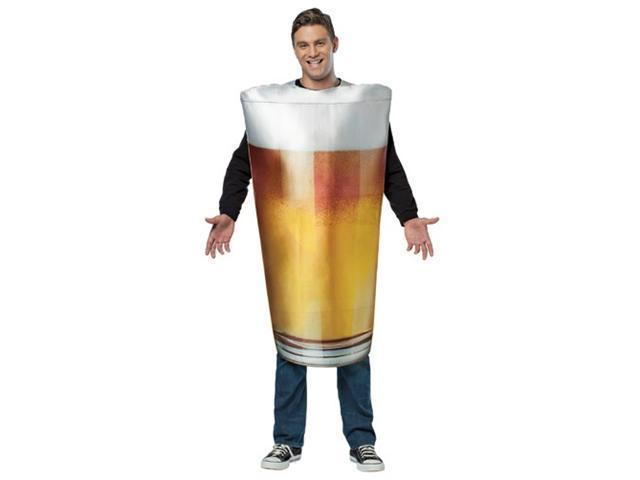 Adult Beer Pint Costume Rasta Imposta 6802