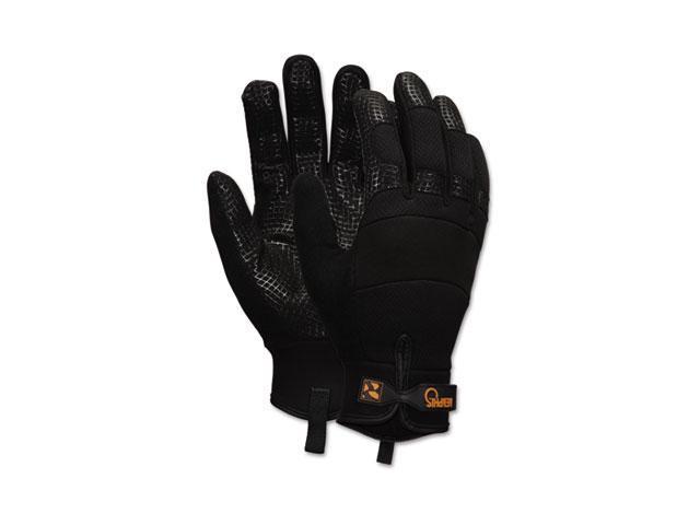 Crews 907M Memphis Multi-Task Synthetic Palm Gloves, Medium, Black