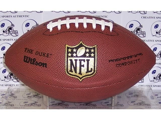 Creative Sports Enterprises WILSON-F1825-NFLREP Wilson NFL Composite Replica Game Model Football - F1825