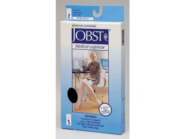 Jobst 115684 Opaque Knee Highs 15-20 mmHg - Size & Color- Honey X-Large