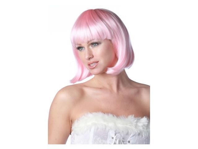 Women's Pink Charm Wig