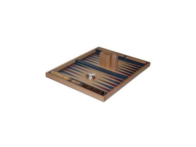 CHH 3040 19 Inch Blue Non-folding Backgammon