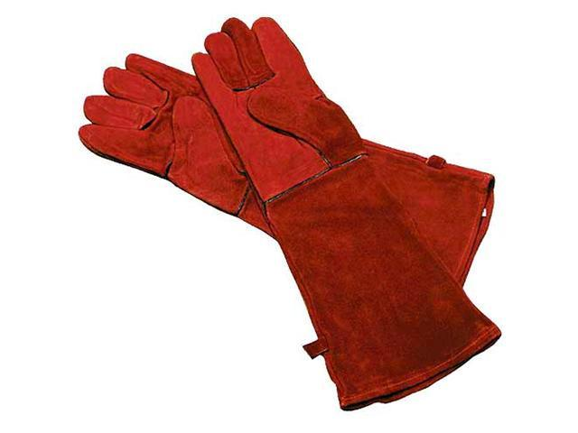 Woodeze 5MM-A-13 Long Arm Gloves - 20 in. Long - Red