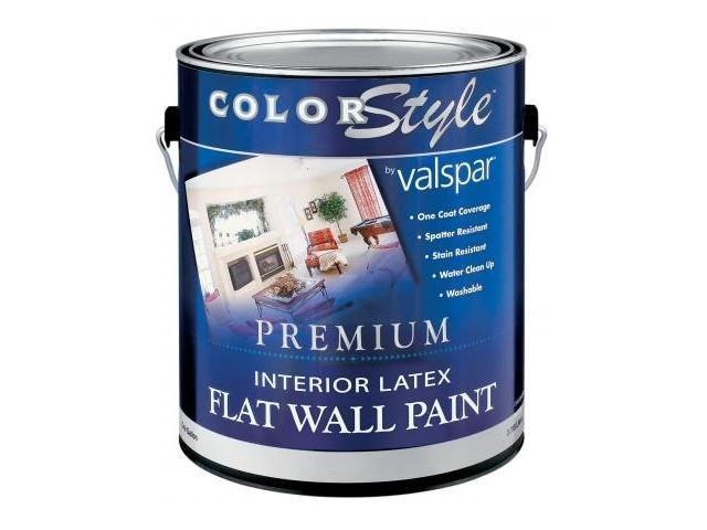 brand 1 gallon clear base colorstyle interior latex flat wall paint. Black Bedroom Furniture Sets. Home Design Ideas
