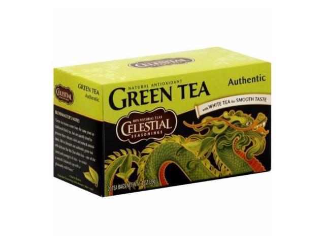 Celestial Seasonings Green Tea Authentic 20 Bags