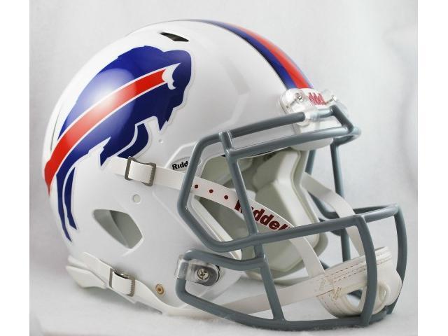 Creative Sports Enterprises RDRSA-BILLS Buffalo Bills Riddell Speed Revolution Full Size Authentic Proline Football Helmet