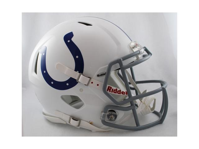 Creative Sports Enterprises RDRSA-COLTS Indianapolis Colts Riddell Speed Revolution Full Size Authentic Proline Football Helmet