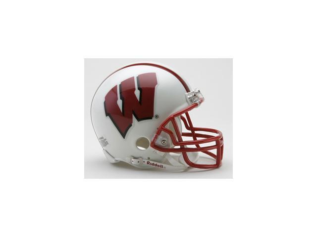 Creative Sports Enterprises RC-WISCONSIN-MR Wisconsin Riddell Mini Football Helmet