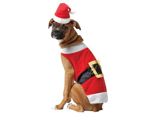 Rasta 5027-L Santa Dog Costume - Large