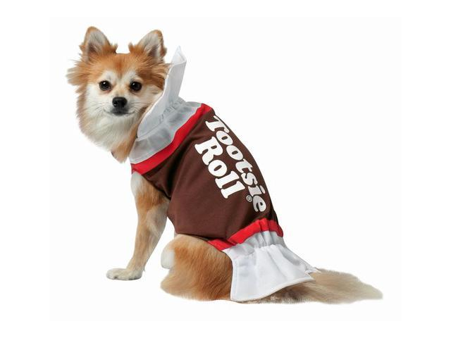 Rasta 4003-XS Tootsie Roll Dog Costume - X-Small
