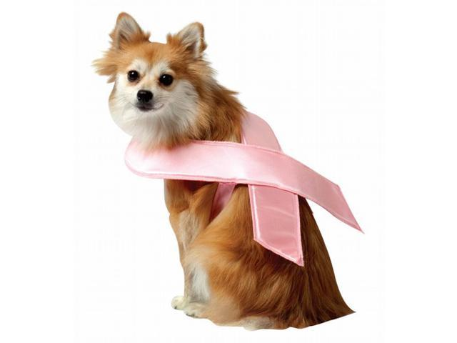Pink Ribbon Pet Costume - Large