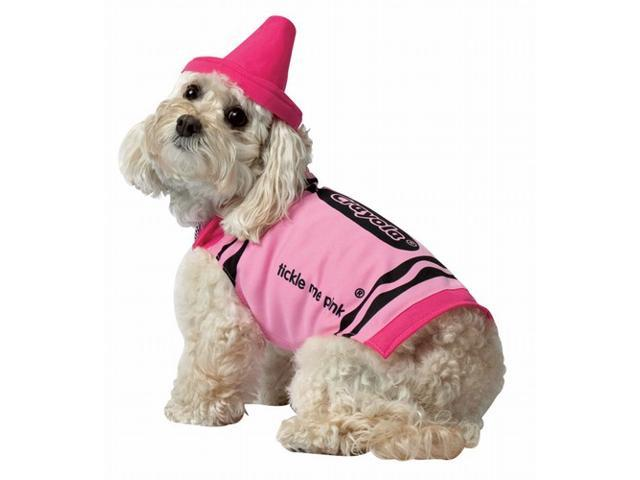 Rasta 4531-XS CRY Pink Dog Costume - X-Small
