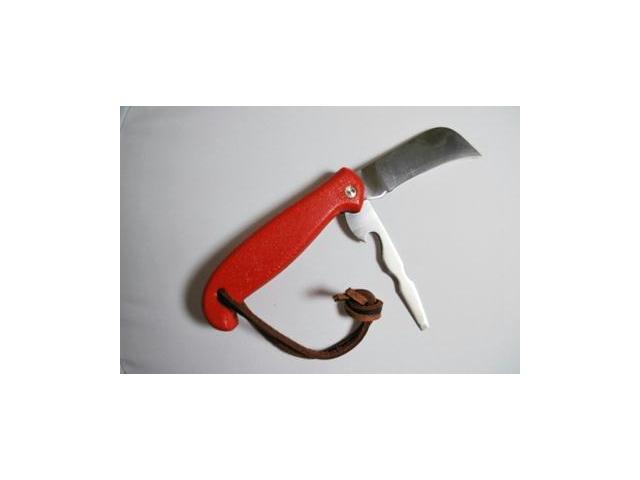 Sheffield Handyman's Action Knife Red with Leather